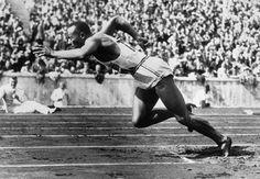 Jesse Owens - Jeux Olympiques de 1936