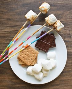 DIY Urban Marshmallow Roasting Sticks... now all you need is a Stuff'n Mallow.