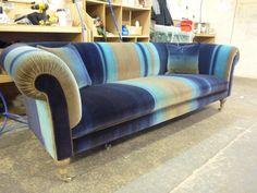 Chesterfield Sofa Westwood - Moderne Chesterfield Sofa Interpretation - Erhältlich über Kippax of Yorkshire