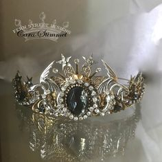 accessories quotes Jeweled Dragon Crown, Steampunk Hair Accessory, jeweled crown, Made in USA, Crown Aesthetic, Princess Aesthetic, Cute Jewelry, Hair Jewelry, Wedding Jewelry, Wedding Accessories, Hair Accessories, Dragon Wedding, Vintage Bridal Hair