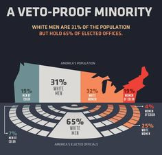 Stark Infographics Show Just How Blindingly White and Male America's Elected Officials Are - Mic