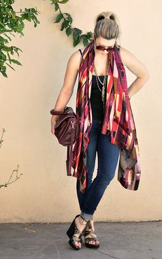 ...love Maegan : From Scarf to Shawl with 1-2 Yards of Fabric Fashion + DIY + Home + Lifestyle