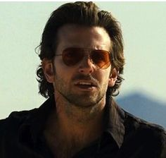 Bradley Cooper in The-Hangover  Ray Ban Sunglasses with orange tint
