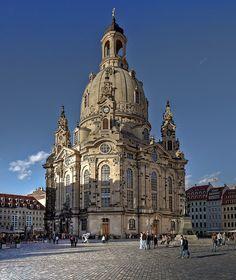 Dresden Frauenkirche, Dresden, Saxony, Germany