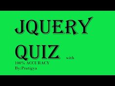 ******************Here you can watch all types of Quiz questions for Web Development course. Types Of Websites, Web Development, Youtube, Youtubers, Youtube Movies