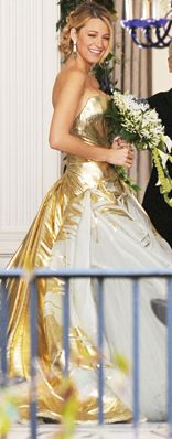 Serena van der Woodsen Wedding Dress in Gossip Girl