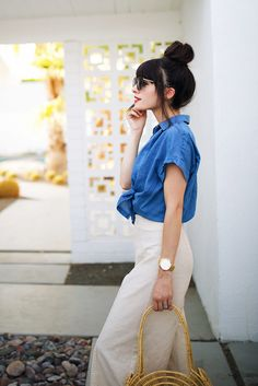 bd9bf3056ef New Darlings - Style Blog - The Mule - Summer Style Autumn Fashion Women  Fall Outfits