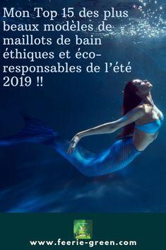 Mon Top 15 des plus beaux modèles de maillots de bain éthiques et éco-responsables de l'été 2019 !! #modeethique