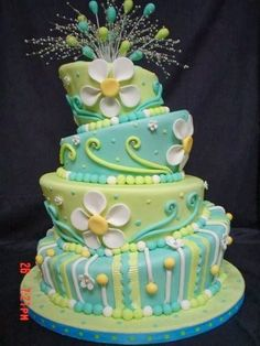 I love this daisy cake!