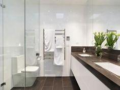 Modern bathroom design with twin basins using ceramic - Bathroom Photo 155100