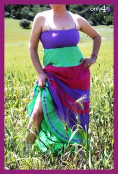 Dress Summer, Tie Dye Skirt, Purple, Skirts, Dresses, Products, Fashion, Summer Outfit, Gowns