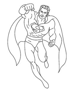hit in the air superman coloring pages super hero coloring pages kidsdrawing