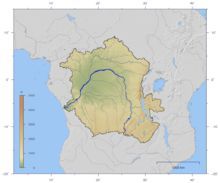 The Congo Basin is 3.7 million square kilometers and is home to the largest undisturbed stands of the tropical rainforest. The basin begins in the highlands of Eastern African Rift all the way down to where it empties in the Gulf of Guinea on the Atlantic Ocean.