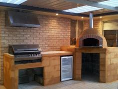 Another great residential wood fired pizza oven. Who said you can't have a BBQ and a woodfired pizza oven? The two compliment each other perfectly! Check our Facebook page for more residential inspired wood fired ovens: https://www.facebook.com/VesuvioWoodFiredOvens