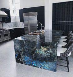 Luxury Kitchen Design, Kitchen Room Design, Dream Home Design, Luxury Kitchens, Home Decor Kitchen, Kitchen Interior, House Design, Kitchen Furniture, Dream House Interior