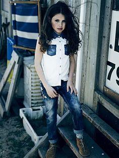 Scotch and Soda SS14 moda para niños Amsterdam Blauw http://www.minimoda.es