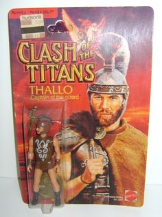 6/15/14  2:57a  MGM ''Clash of Titans''   Mattel Toy Thallo   Captain of the Guard 1981