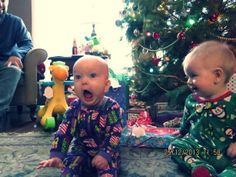 Well, this little boy seems to be LOVING Christmas!! Lol! #BringOnDaGifts!!