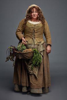 Beattie Edney as Prudie in Poldark 3