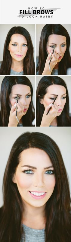 Brows that look realistic even from right up close! OH MY WORLD! So glad I know!