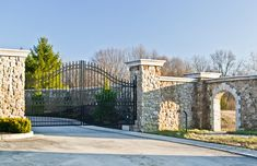 I'd have a gated entrance and/or a private driveway.