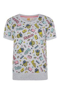 Primark - Pyjamashirt met Minions-print