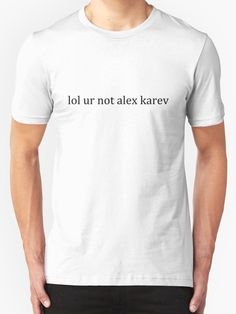 lol ur not alex karev by Lyndsey Kleiman