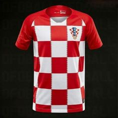 2018 Croatia World Cup Home Jersey [L419]