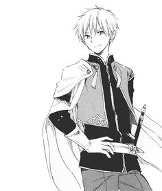 Akagami no Shirayuki-hime - Snow White with the Red Hair - Prince Zen hottie alert Anime Boys, Manga Boy, Snow White With The Red Hair, Black And White, Zen Wisteria, Fanart Manga, Akagami No Shirayukihime, The Ancient Magus, Cut Her Hair