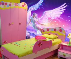 magic wall mural for girls