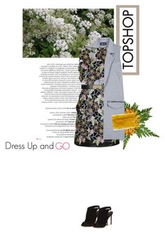 """""""Topshop Dresses Campaign x CrazyDita"""" by crazydita ❤ liked on Polyvore featuring Balmain, Topshop, topshop, newarrival, dressupandgo, topshopxcrazydita and topshopdressescampaign"""