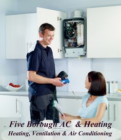 Five Borough AC and Heating is a full-service company with licensed, expert #HVACrepair technicians in NYC, providing services ranging from preventative maintenance programs to total #heating, #airconditioning system #installations.
