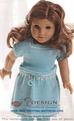 Knit lovely doll clothes