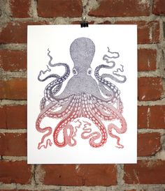 Octopus Lettepress   Nate Duval
