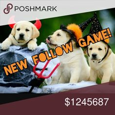 NEW FOLLOW GAME!!!! I WANT 15,000 FOLLOWERS! HELP ME REACH 15,000 FOLLOWERS BY HALLOWEEN! 🎃 FOLLOW MY GAME AND ILL FOLLOW YOURS! TAG YOUR FRIENDS AND SHARE! GAIN 100'S OF FOLLOWERS A DAY! HAPPY HALLOWEEN AND HAPPY POSHING! 🎃👻 Other