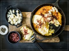 Raclette Fondue, Paella, Food And Drink, Cooking, Ethnic Recipes, Euro, Collection, Cheese, Recipe
