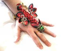 Dragon slave bracelet by Seren Fey