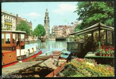 Netherlands Amsterdam Singel Canal Floating Flower Market   eBay
