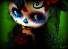 Blythe Sugar Skull #sugar #skull #muertos #blythe