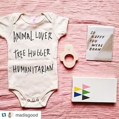 #Repost @madisgood ・・・ Such a beautiful collection of baby goodies including our Strawberry Moth Karma Onesie. Thanks for putting us in such good company @madisgood ! Tap for details! #strawberrymoth #ingoodcompany #babystuff