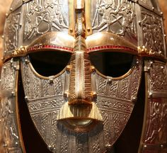 mud-brick.com ''Finds like the Sutton Hoo helmet depicting warriors with spears and swords indicate that violence and conflict were a real part of Dark Age life.''