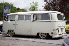 70 early bay tin top campervan