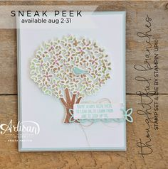 Welcome to a special edition blog hop from the Stampin' up!© Artisan Design Team! Today we are bringing you a sneak peek into a new exc...