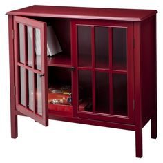 Windham Accent Cabinet Red - Threshold™
