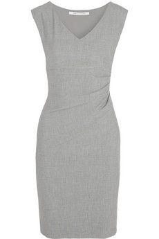 Diane von Furstenberg Bevin ruched stretch-jersey dress   NET-A-PORTER
