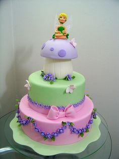 http://www.pinterest.com/ateliermm/my-cakes/  Tinkerbell