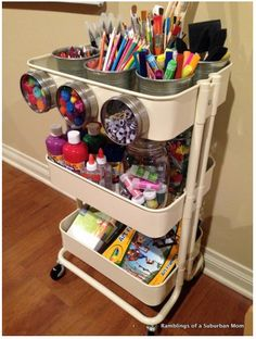 Have Storage Space Will Travel! Create Home Storage
