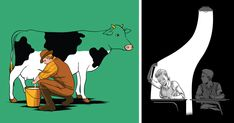 I Play With People's Minds By Illustrating Optical Illusions | Bored Panda