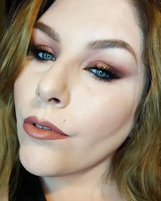 #motd from my birthday.  Cleaning out pics on my phone and came across a few motds I forgot to post this month.  I used @katvondbeauty Serpentina palette on the eyes and @nyxcosmetics Liquid Suede in Soft Spoken on the lips. #makeup #motd #bblogger #bbloggers #eyeshadow #lipstick #makeupblogger #makeupartist #makeupblog #beautyblogger #beauty #beautyblog #makeupaddict #makeupaddiction #makeupjunkie #mua #muablog  #muablogger #glam #katvondbeauty #kvdbeauty #kvdlook #nyx