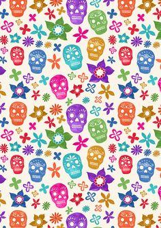 New print! Sugar Skulls